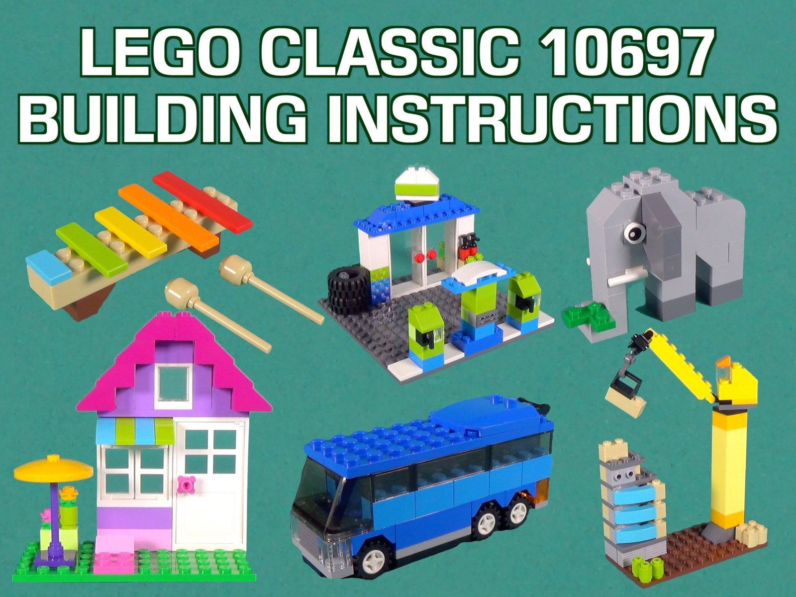 Clip: Lego Classic 10697 Building Instructions - Season 1