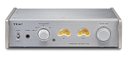 TEAC AX-501-S Amplificateur Intégré  2x 120W sous 4 Ohms Argent