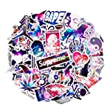 Car Stickers [100 pcs], Breezypals Galaxy Laptop Stickers Motorcycle Bicycle Luggage Decal Graffiti Patches Skateboard Stickers for Laptop - No-Duplicate Sticker Pack (Color: Galaxy Sticker 100Pcs, Tamaño: Galaxy Stickers 100Pcs)