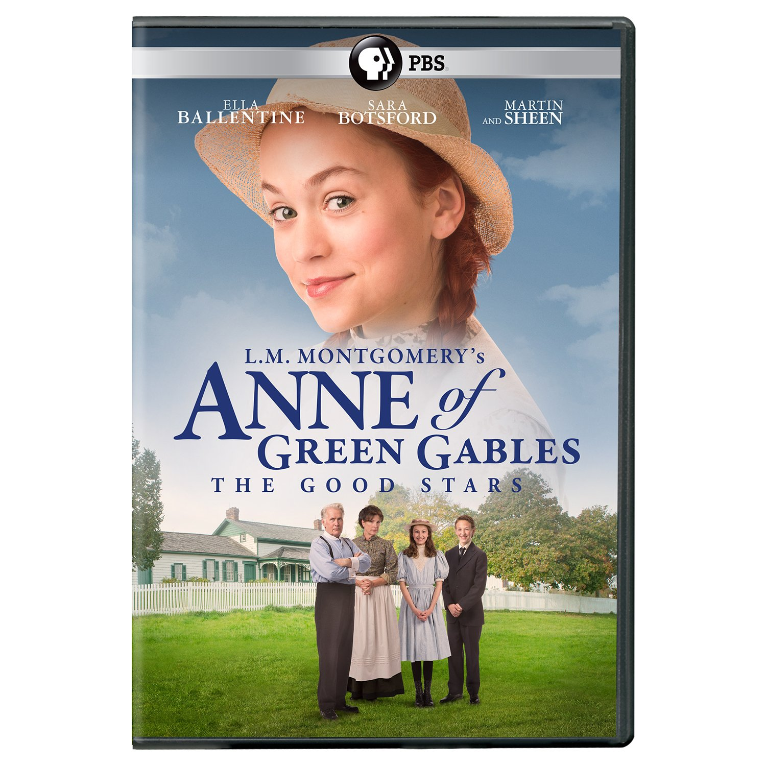 Book Cover: L.M. Montgomery's Anne of Green Gables The Good Stars DVD