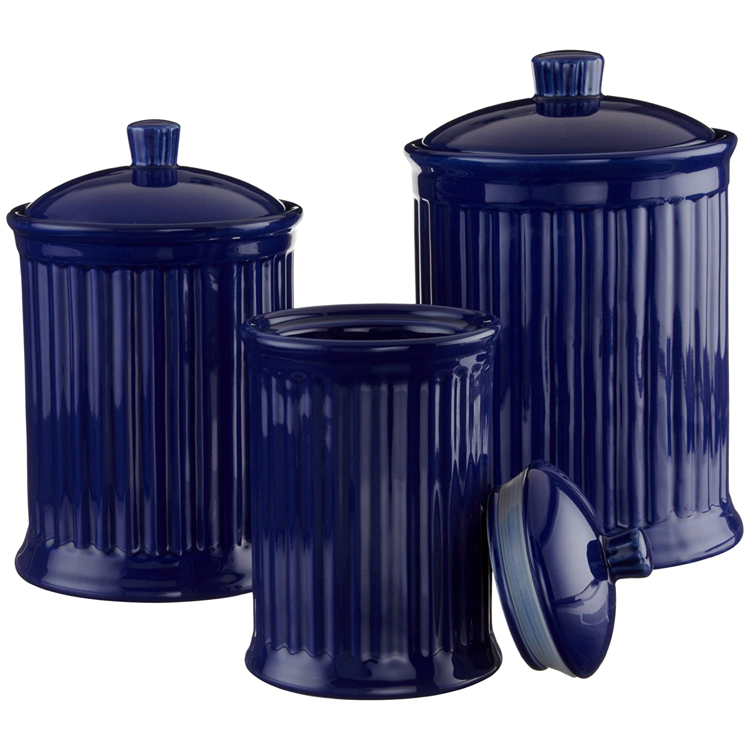 Designer Kitchen Canister Sets 28 Blue Kitchen Canister Set Blue Kitchen Canister Set