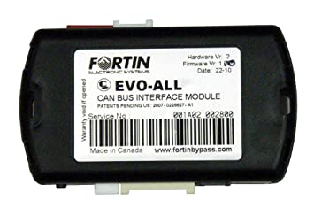 Fortin Axxess EVO-ALL Universal All-In-1 Data Bypass Multi Function Evo All