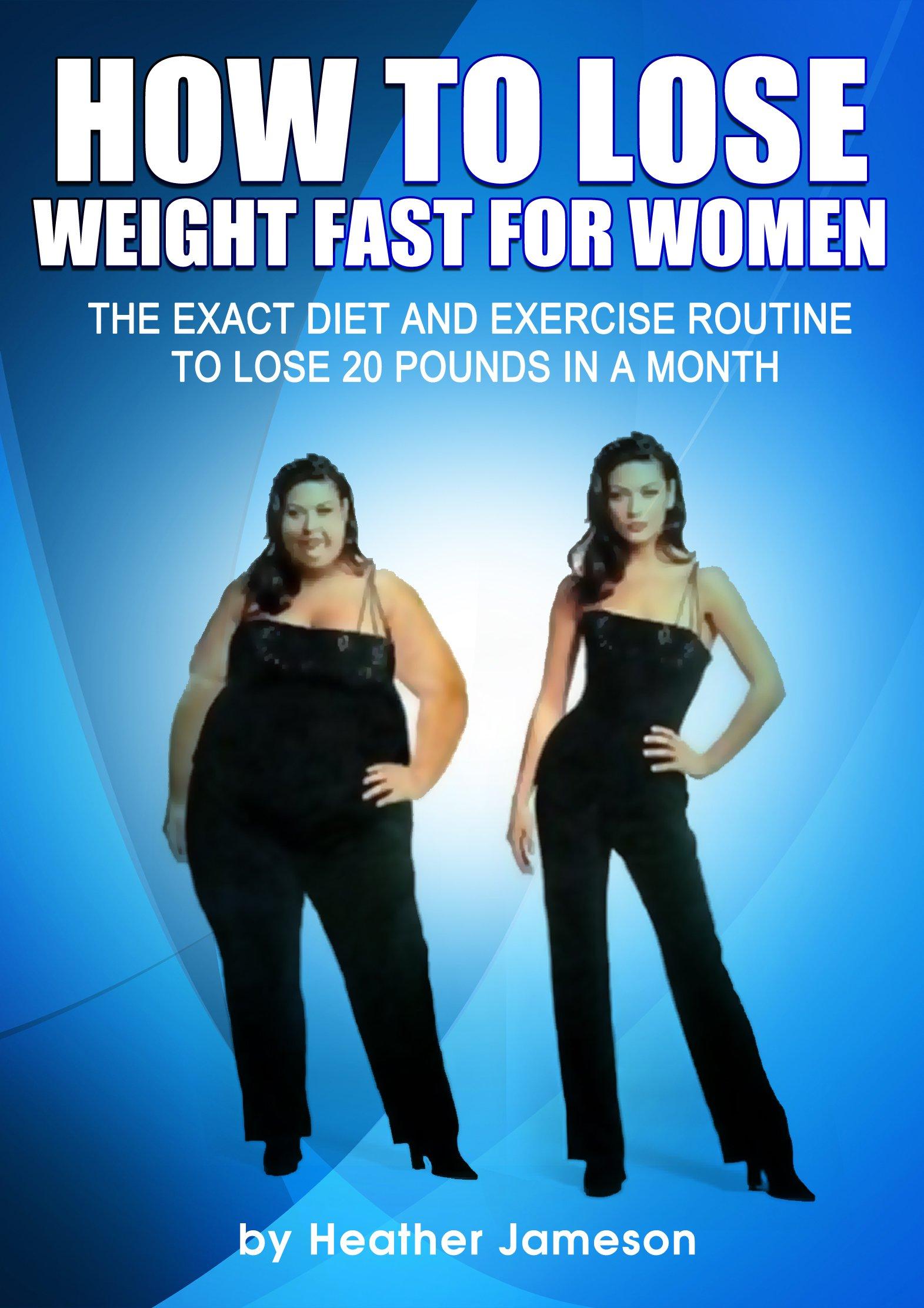 Perder 20 libras rápido - plan de dieta y ejercicio para perder 20 libras