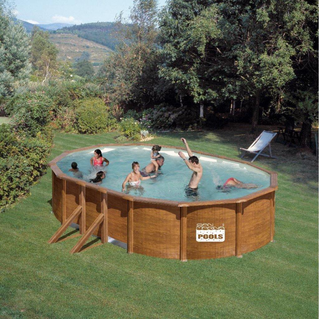 San Marina Pools Schwimmbad 500 x 300 120 cm