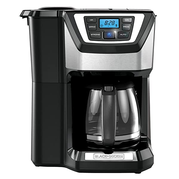 Black & Decker CM5000B 12-Cup Mill and Brew Coffeemaker Via Amazon