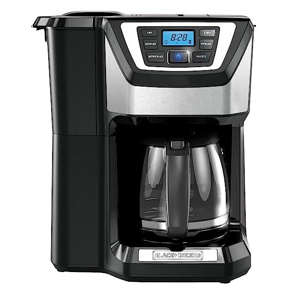 Black & Decker CM5000B 12-Cup Mill and Brew Coffeemaker Via Amazon