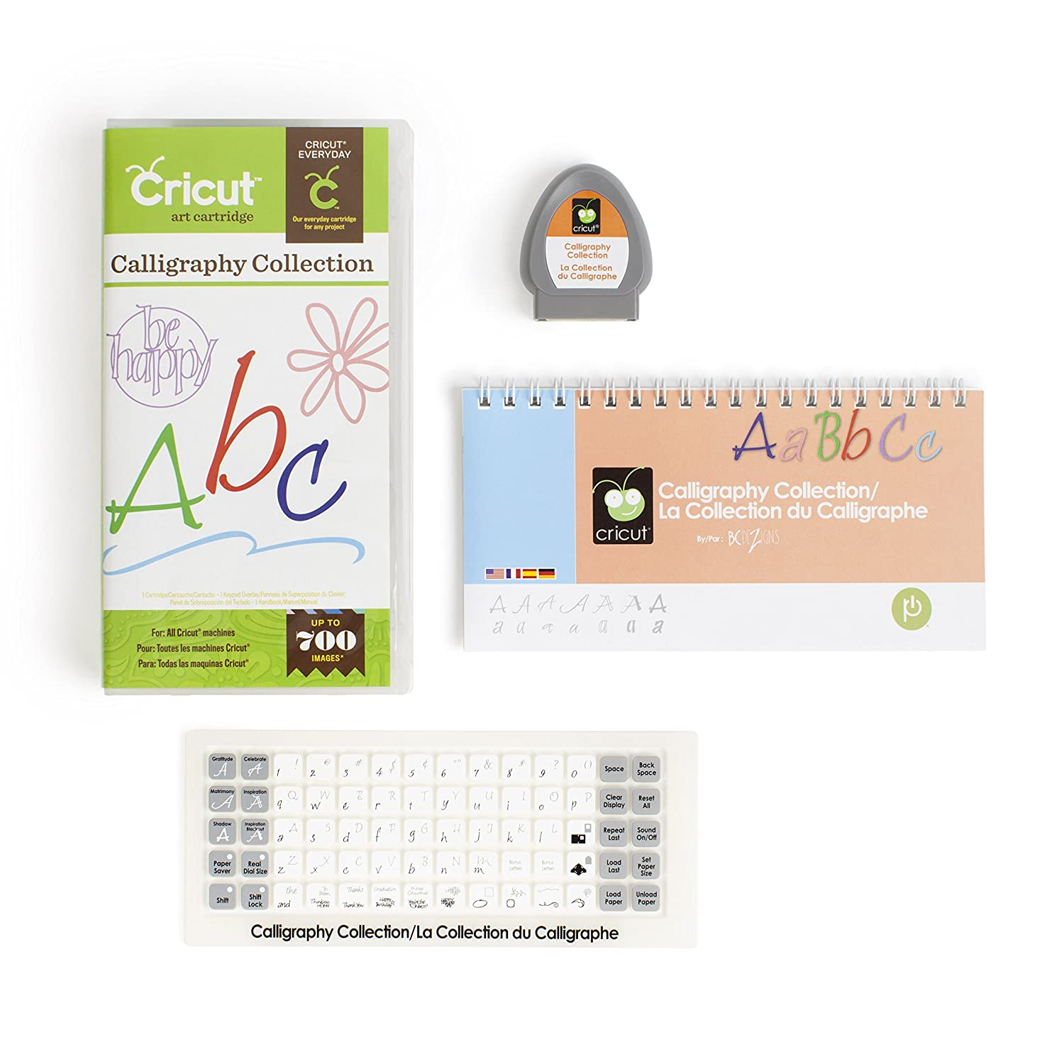Cricut Cartridge Calligraphy Collection New Free Shipping