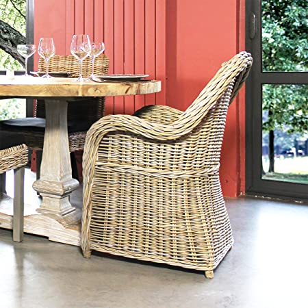 Fauteuil rond rotin | VDL-16