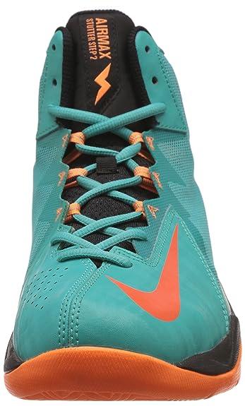... basketball Nike Men's Air Max Stutter Step 2 Light Retro, Electric  Orange and Bright Citrus Sport ...