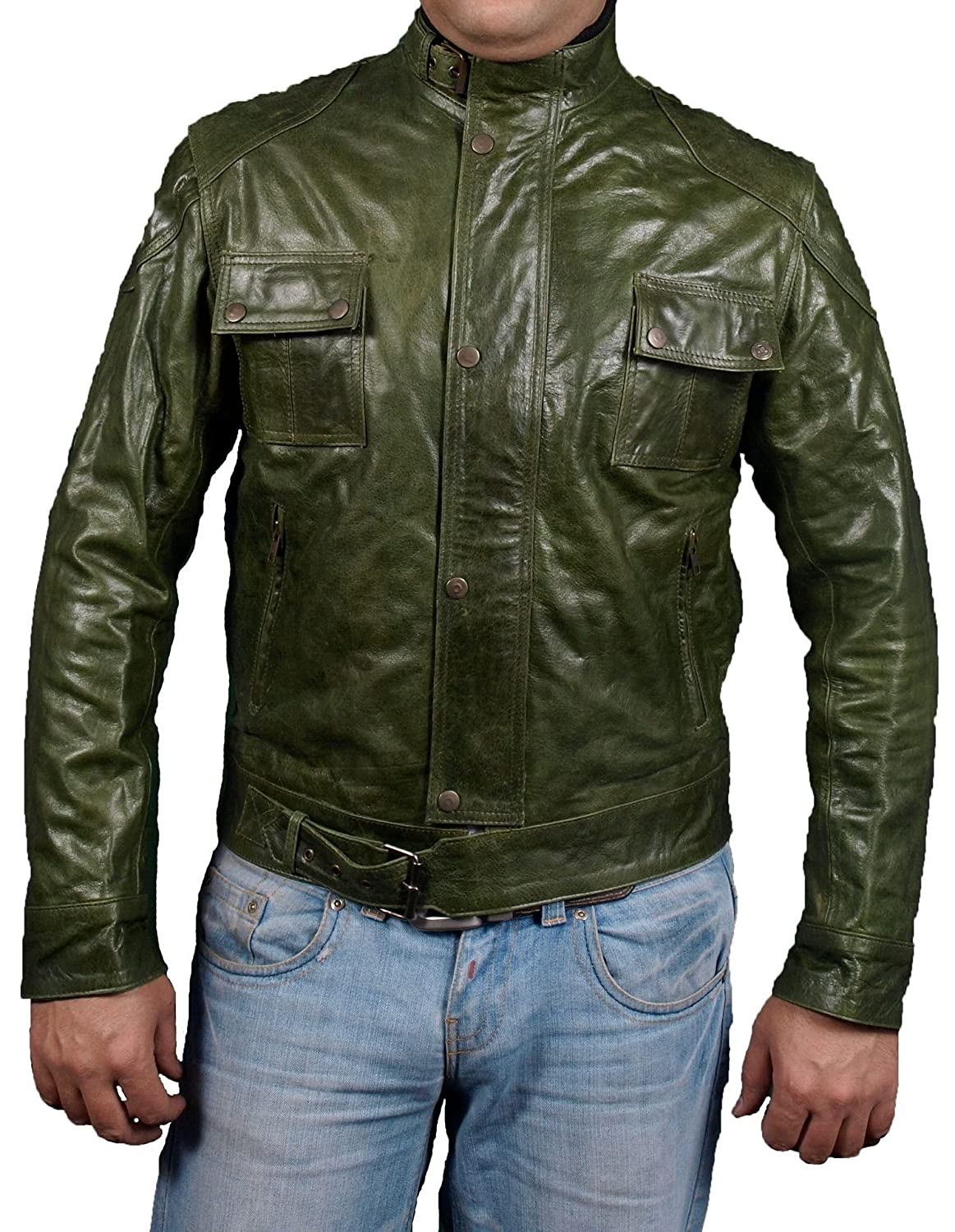 Men's WANTED Leather Jacket