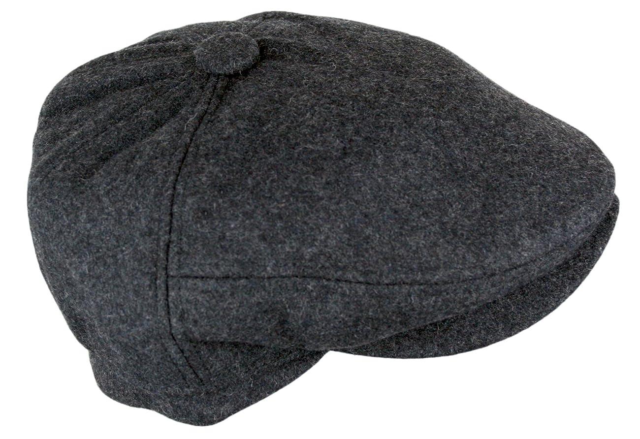 Men's 5 Panel Vintage Style Wool Blend Gatsby Ivy Newsboy Hat 4