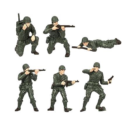"Safari «Toob Armée Hommes ""MINIATURES (Multicolore)"