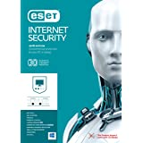 ESET Internet Security 2018 Version 10, 3 Device with 1 Year Subscription for Mac and Windows, OEM