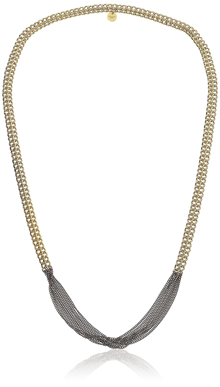 Dyrberg/Kern Damen-Kette ohne Anhänger 15/02 Perri Sg Gun Metal teilvergoldet 90 cm – 338124 jetzt kaufen