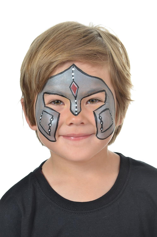 Maquillage chevalier - Maquillage deguisement visage ...