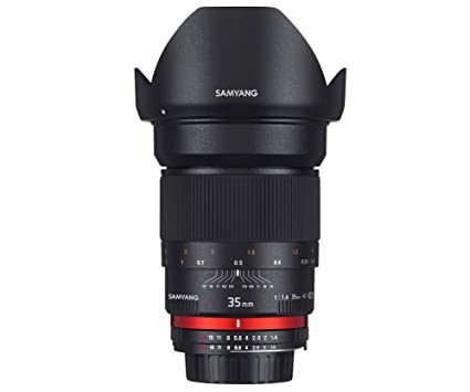 Samyang 35 mm f/1.4 AS UMC (Pour Canon)