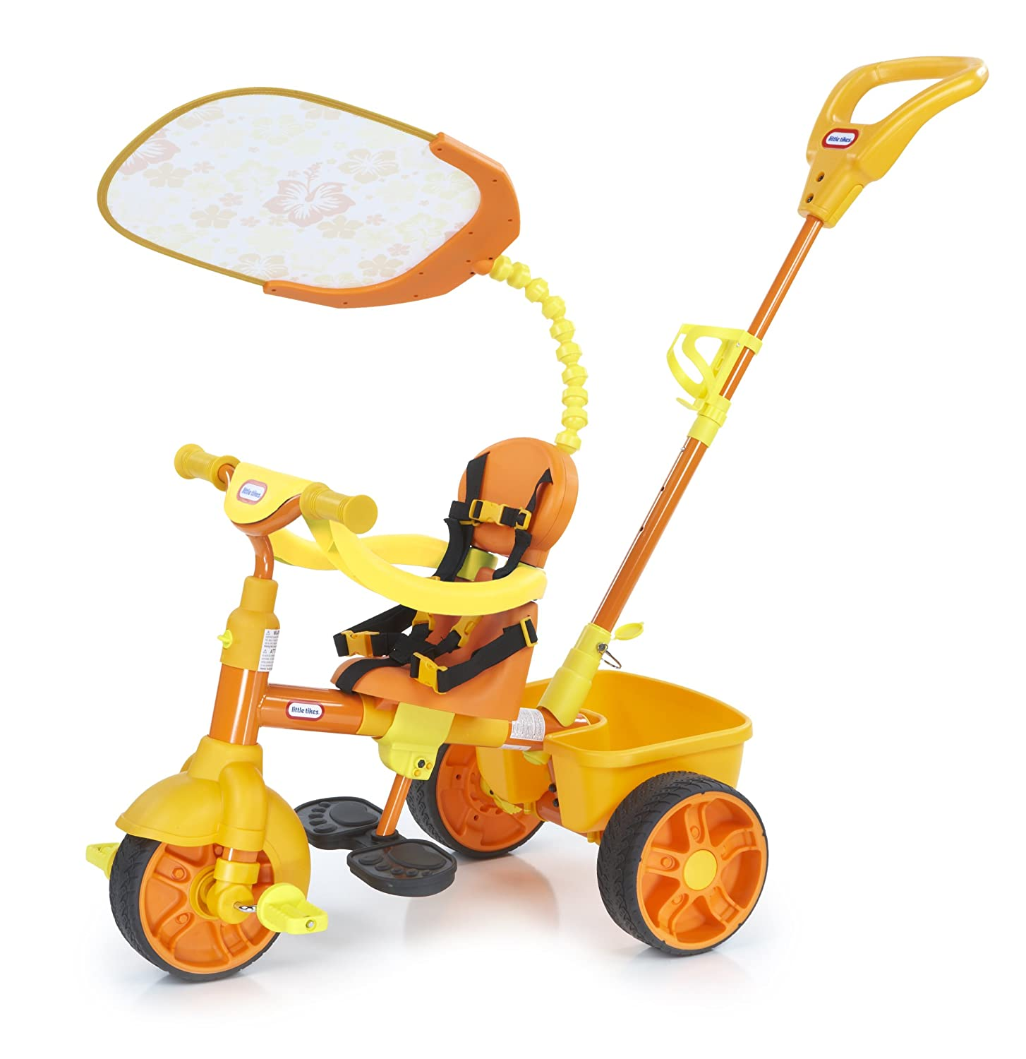 An Image of Little Tikes 4-in-1 Trike, Orange