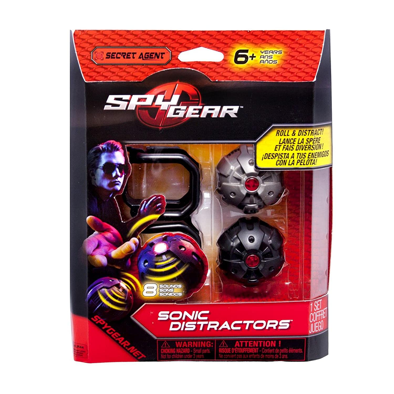 Spy Gear Sonic Distractors