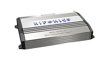 Hifonics BRX15161D HIFONICS BRUTUS 1 x 550 @ 4 Ohms 1 x 900 @ 2 Ohms 1 x 1500 WATTS @ 1 Ohm