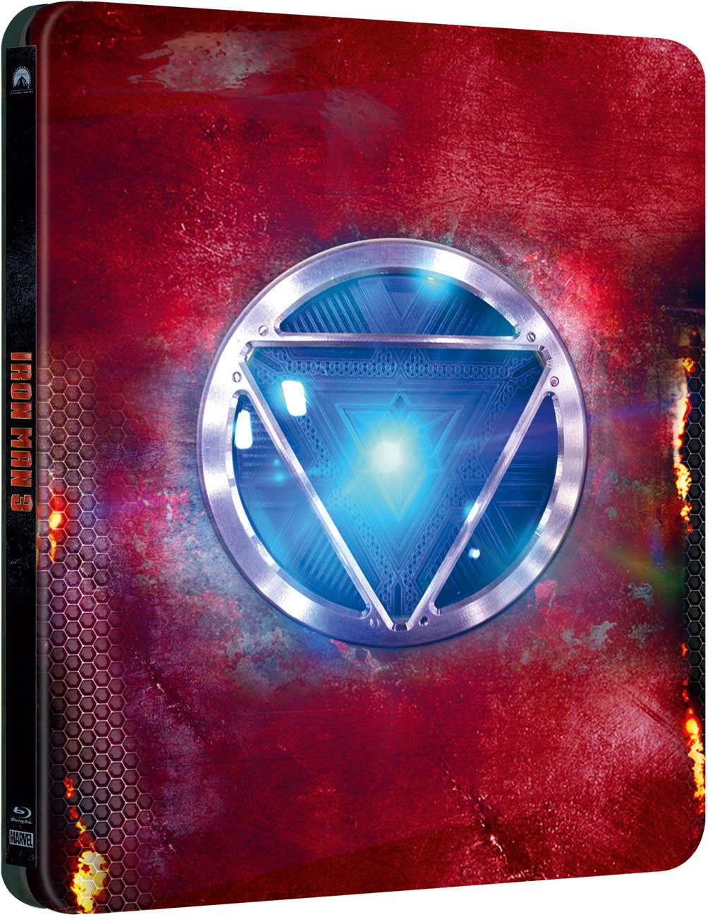 iron man 3 steelbook edition bluray cofanetto film con