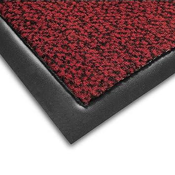 tapis d 39 entr e casa pura n rouge noir rouge noir tr s absorbant lavable lavable. Black Bedroom Furniture Sets. Home Design Ideas