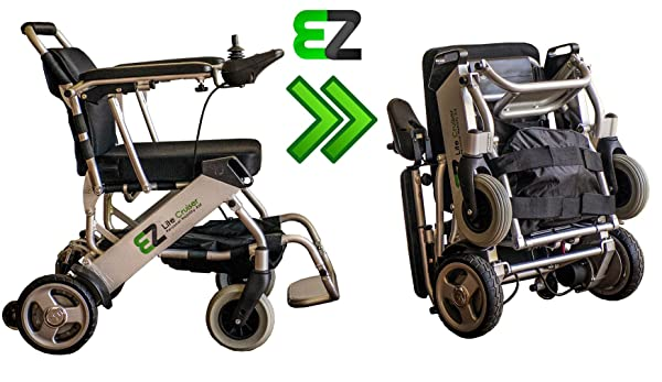 EZ Lite Cruiser electric wheelchair 2016