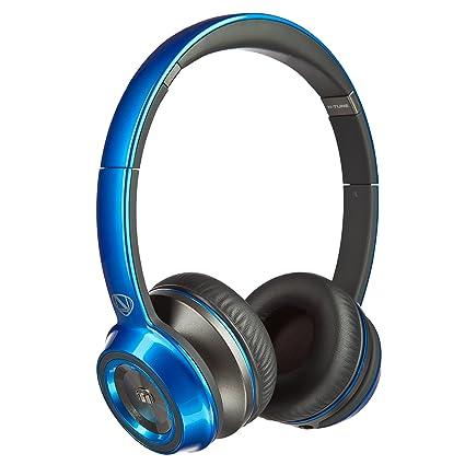 Monster N-Tune Casque arceau Bleu