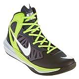 Nike Mens Prime Hype Df Black/White/Anthracite/Volt Basketball Shoe 12 Men US