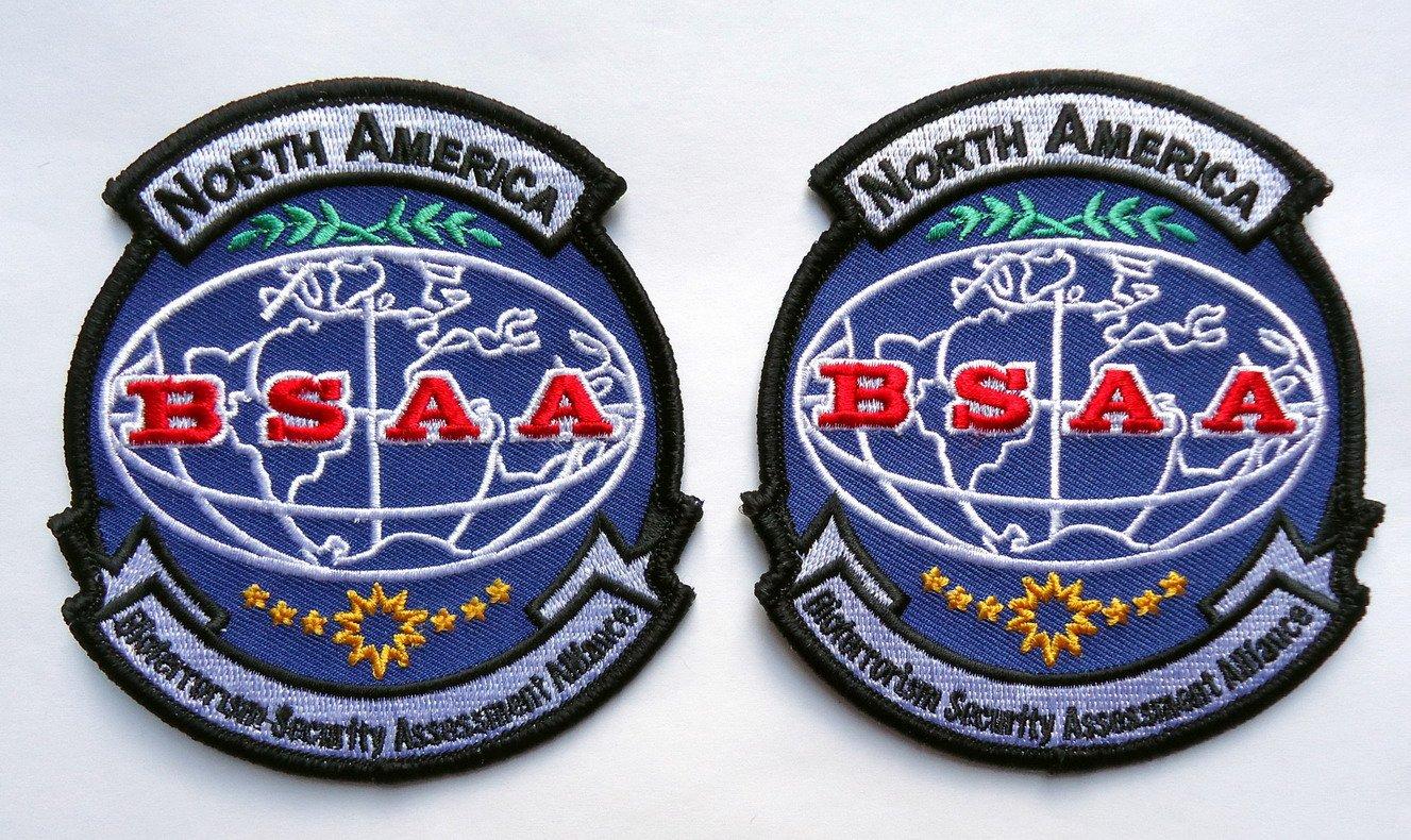 Resident Evil Bsaa Logo Set of 2 Resident Evil North