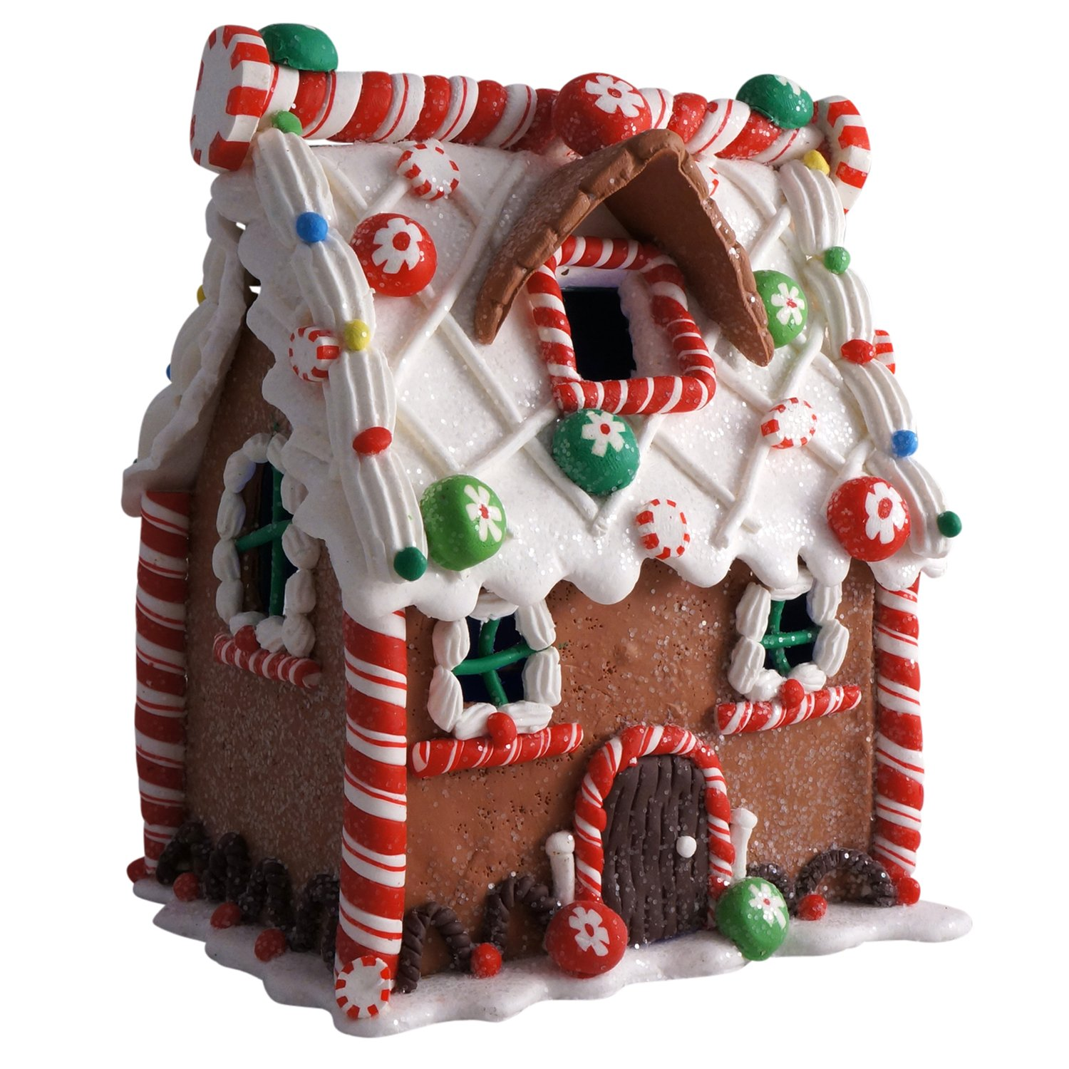 Lighted Gingerbread House Table Decorations   Christmas Wikii