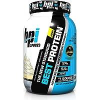 BPI Sports Best Whey Protein Formula, Vanilla Swirl, 2-Lb. Tub