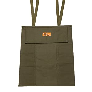 Bull Tools BT 1603 Tool Roll 20 Pocket 100% Dyed 15 Oz. Cotton Duck Canvas Olive Drab (Color: Olive Drab)