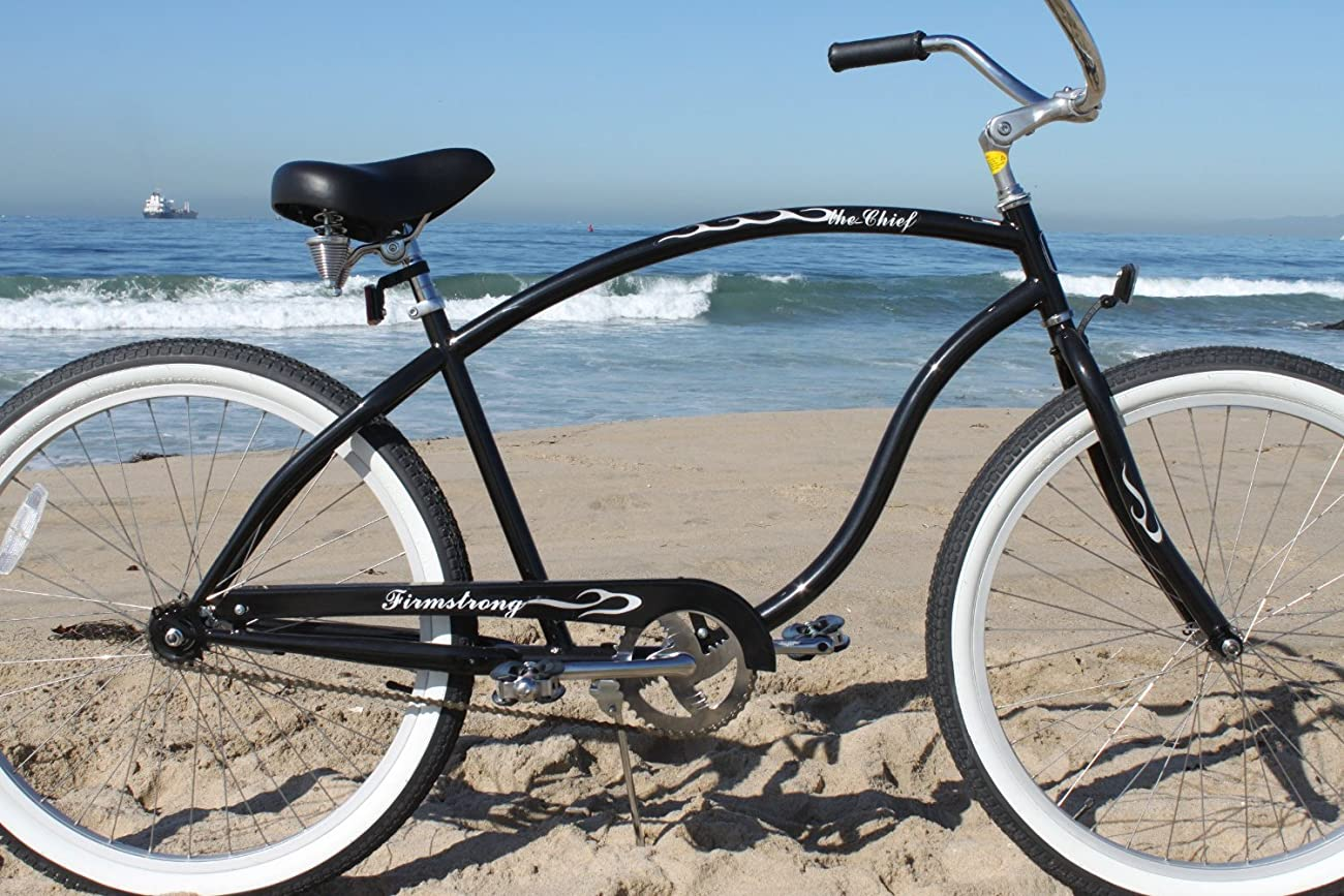 Firmstrong Chief Man Beach Cruiser Bicycle, 26-Inch 2