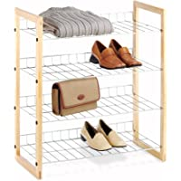 Whitmor 4-Tier Closet Shoe Accessory Shelves