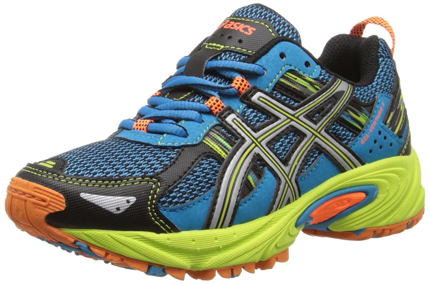 ASICS Gel Venture 5 GS Trail Running Shoe (Little Kid/Big Kid) кроссовки asics кроссовки gel venture 6 gs