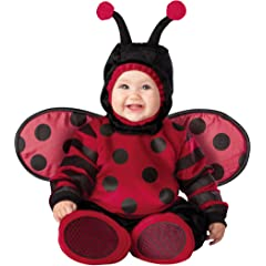 Lil Characters Unisex-baby Newborn Lady Bug Costume