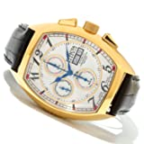 Invicta 12610 Reserve Men's Specialty Automatic Choronograph Leather Watch
