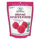 Natierra Nature's All Foods Organic Freeze-Dried Raspberries, 1.3 Ounce