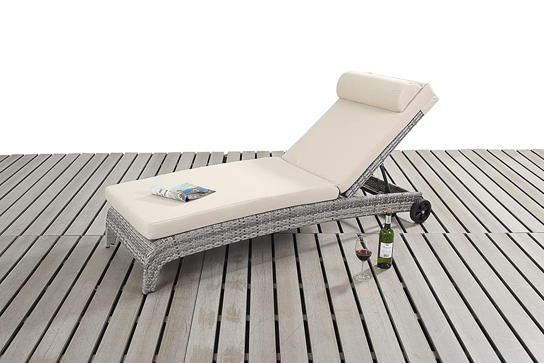 dallas rustikal gartenm bel gartenliege g nstig bestellen. Black Bedroom Furniture Sets. Home Design Ideas