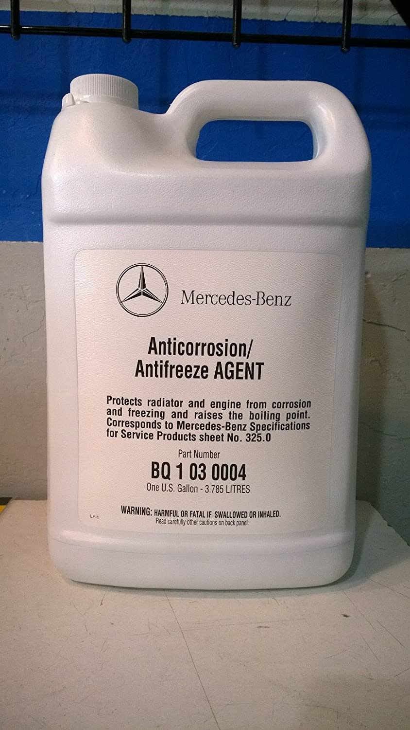 Mercedes Benz Engine Coolant / Antifreeze (1 Gallon) (BLUE Color) mercedes а 160 с пробегом