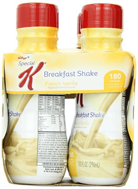 Kellogg's Special K Breakfast Shake, French Vanilla, 40 Oz. (Pack of 6)