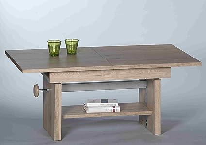 Stella Trading Event Couchtisch, Holz, san remo eiche, 110 x 65 x 48 cm
