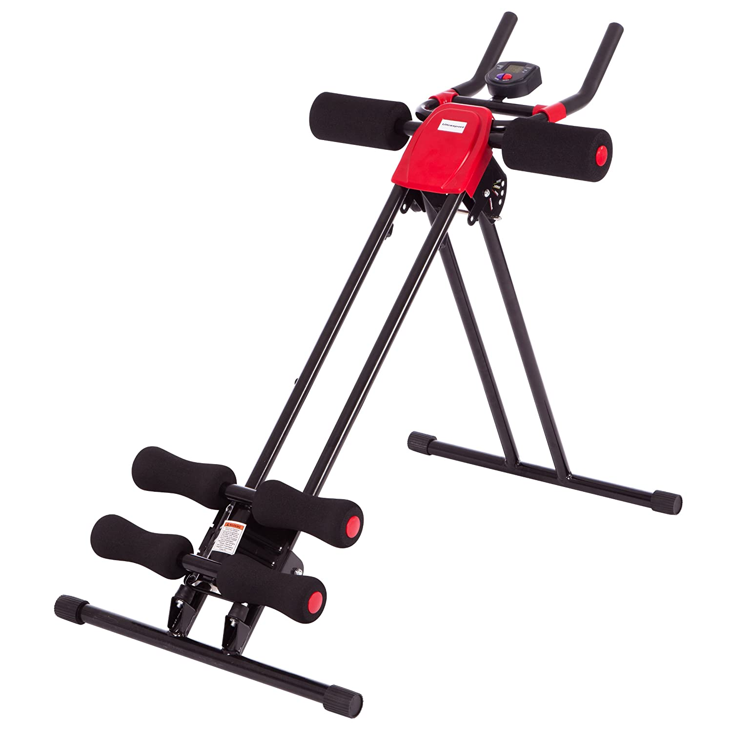 Ultrasport ultra 150 fitness power ab trainer addominali for Appareil sport maison