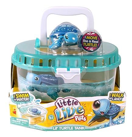 Kanaï Kids - KK28167 - Aquarium avec Tortue - Little Live Pets - Saison 2 - Modèle Aléatoire - Multicolore