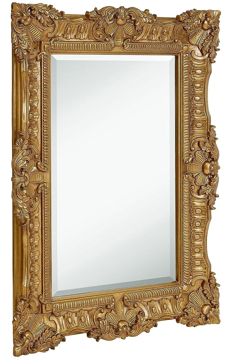 Large Ornate Gold Baroque Frame Mirror   Aged Luxury   Elegant ...