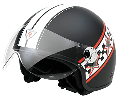 Bottari Moto 64490 Casque Evolution, Noir Brillant, S