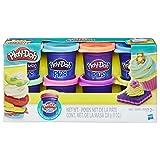 Play-Doh Plus Color Set (8 Pack) (Color: Multicolor, Tamaño: 8 Cans)