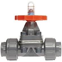 "Hayward PVC Diaphragm Valves, EPDM Seal, 1"" Socket/Threaded"