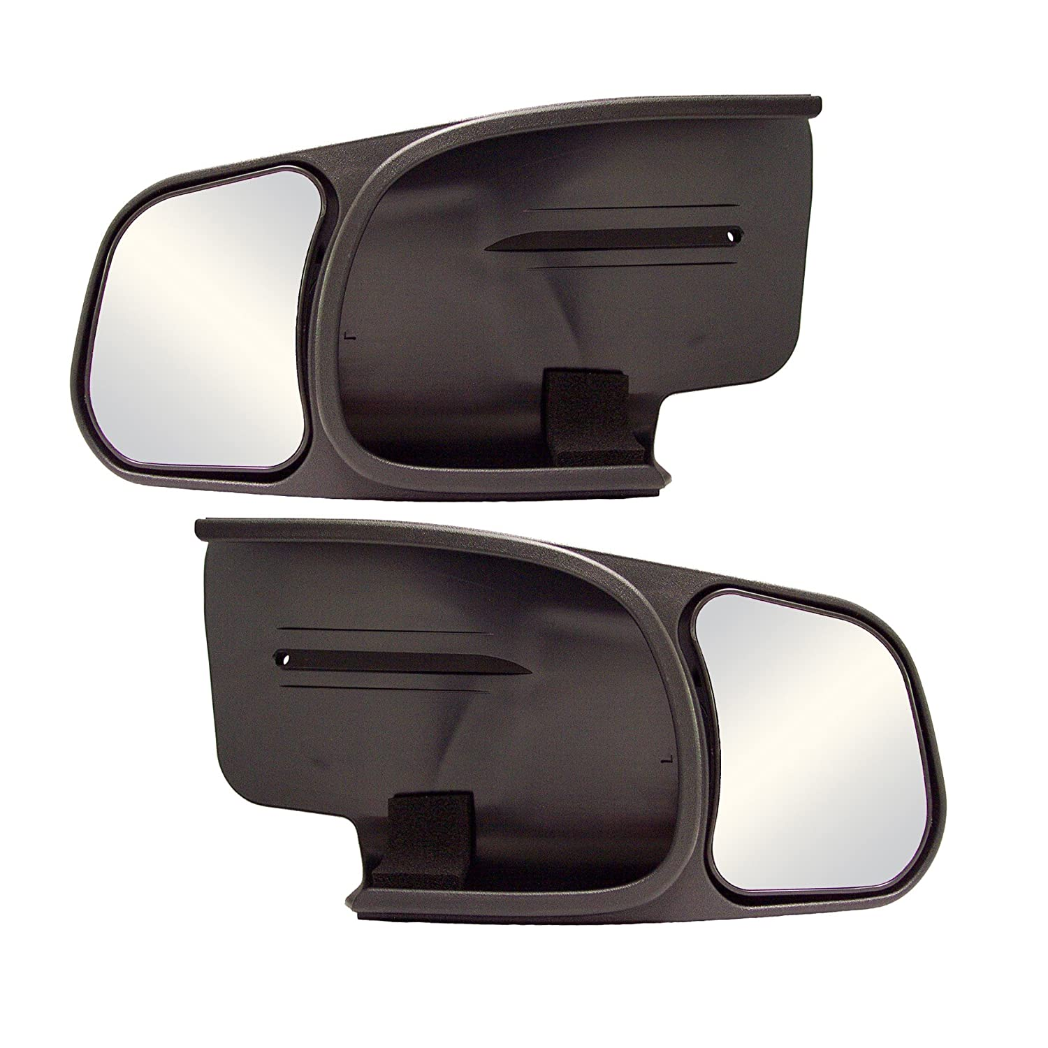 Pair Fit System 81600 Ford F-150//F-250 Towing Mirror
