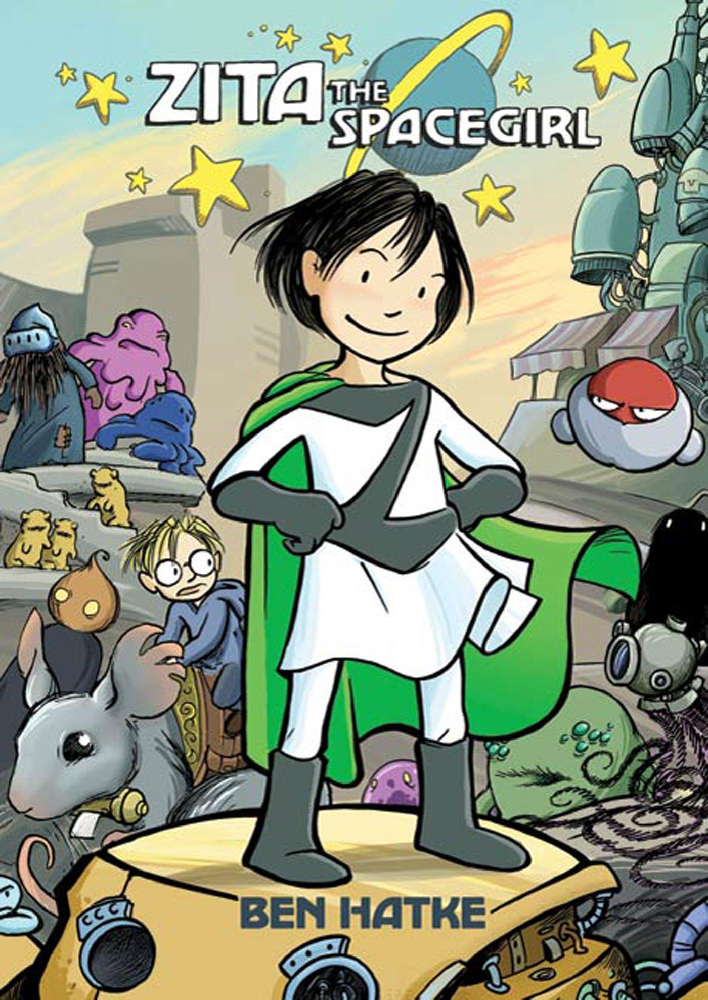 Kids on Fire: Gradeschoolers Will Love The Zita The Spacegirl Series